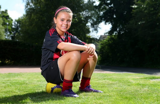 AC Milan scouts have signed 10-year-old Aisha Saini after seeing her play on holiday