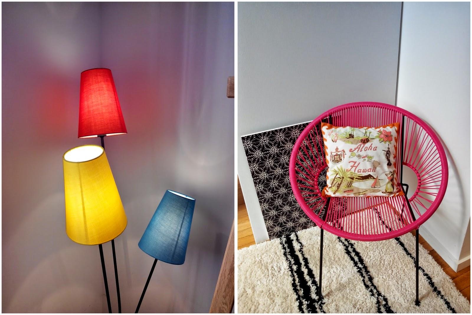décoration, déco, lampe, fauteuil, La Redoute, bullelodie