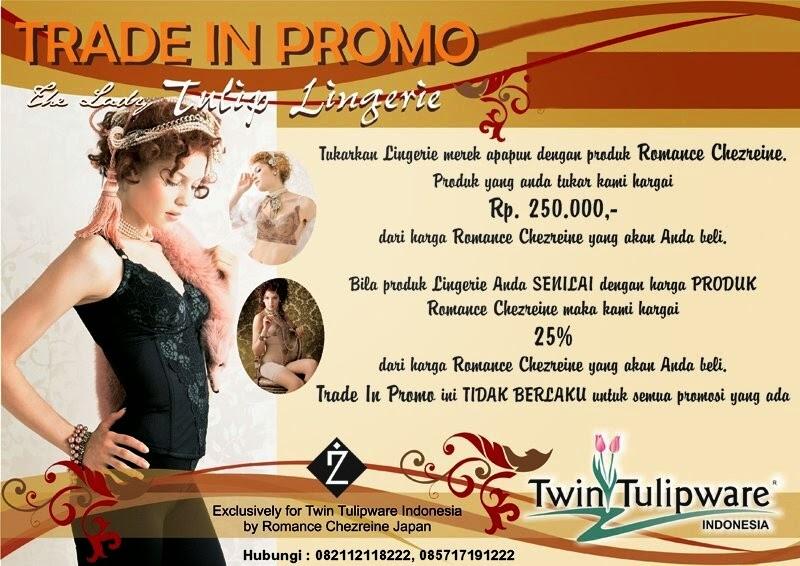 trade in promo produk romance chezreine