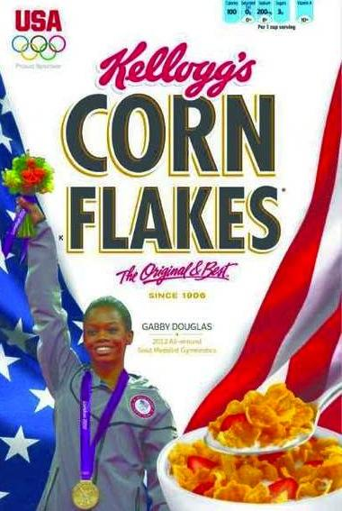 Gabby Douglas: Corn Flakes Box All-Star! » Gossip | Gabby Douglas