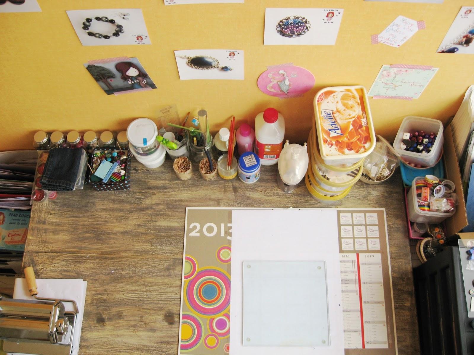 bureau atelier bijoux Loïs