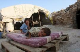 Exército israelense agride crianças palestinas