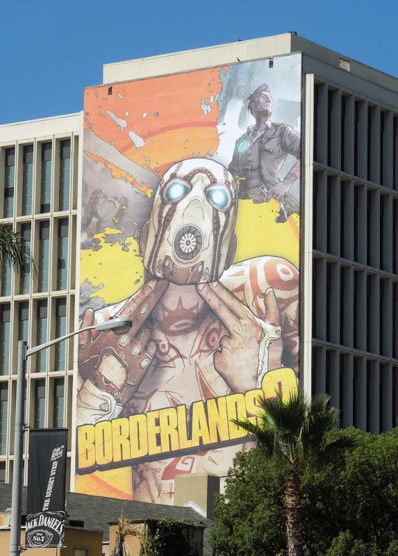 Borderlands 2 game billboard