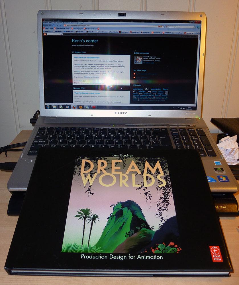 Kenn's corner: Dream Worlds , Production design for