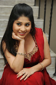 Ziya Khan Glamorous Photos in Red-thumbnail-8