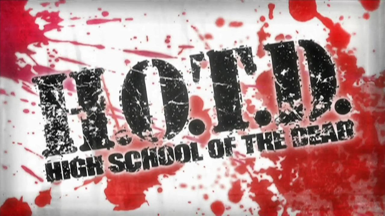 Conhecido pela abreviação H.O.T.D , Highschool of the Dead é uma ...