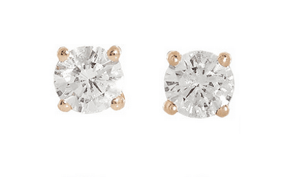 Anita KO Solitaire Diamond Studs Jewellery Every Woman SHould own