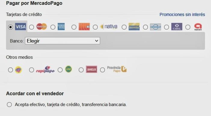 Ahora tambien Integramos Mercado Pago a tu pagina web en Amarillas Internet