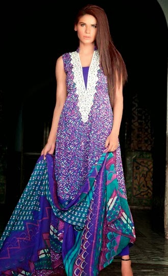 Gul Ahmed Embroidered Chiffon Suits