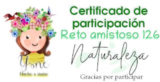 Certificado R.A. nº 126