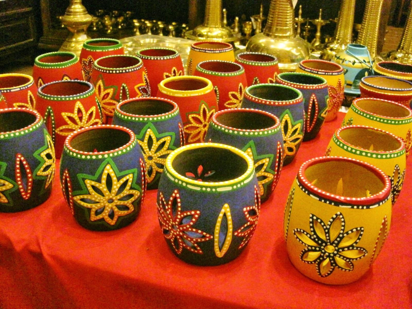 Fish aquarium jayanagar - Candle Holder Made Of Terracota Priced Around Rs 400