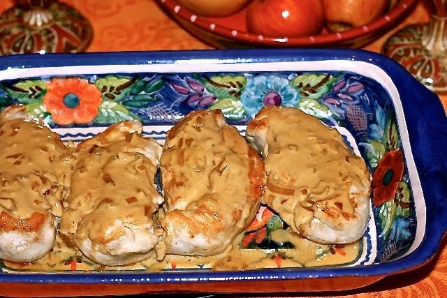 Chicken Breast Diable: simplelivingeating.com