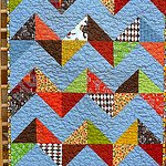 What Are Little Boys Made of Chevron Quilt
