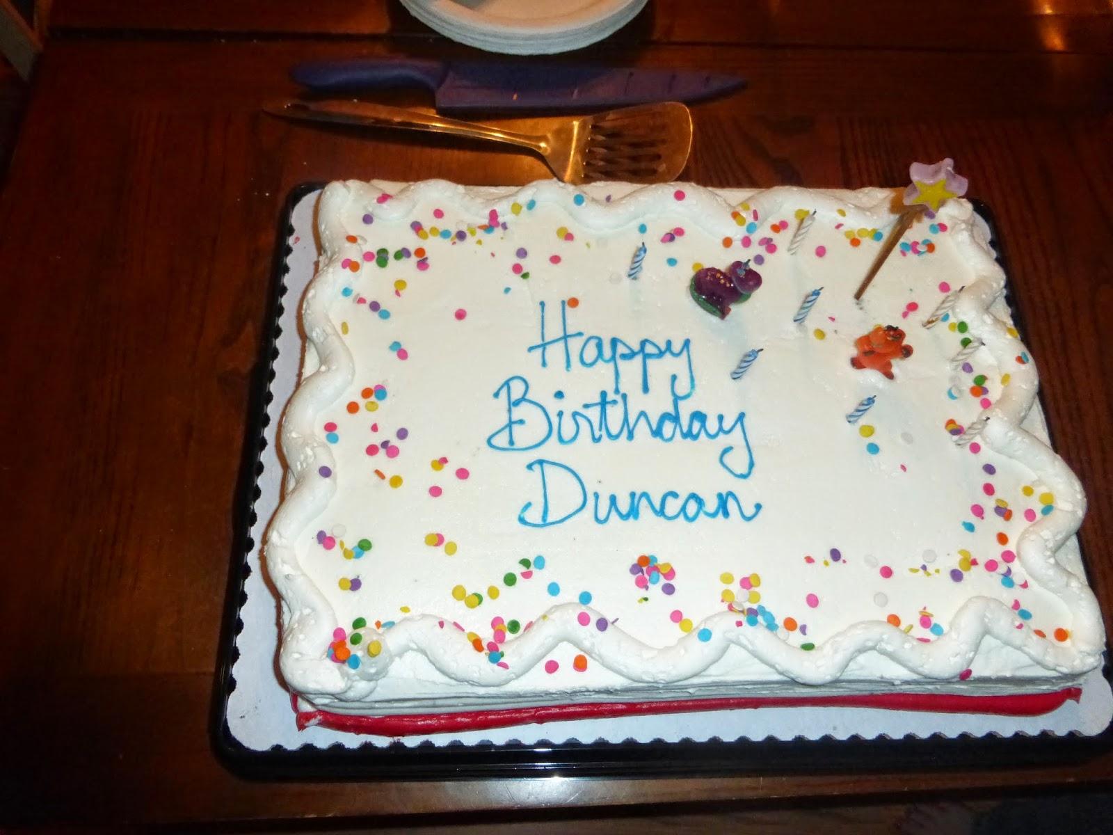 Happy Birthday Devon Cake