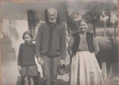 5.011.Ole Pedersen (1839-1926) med familie ca.1890