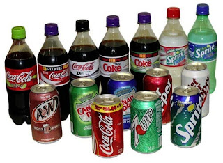 List of all the types of soda products