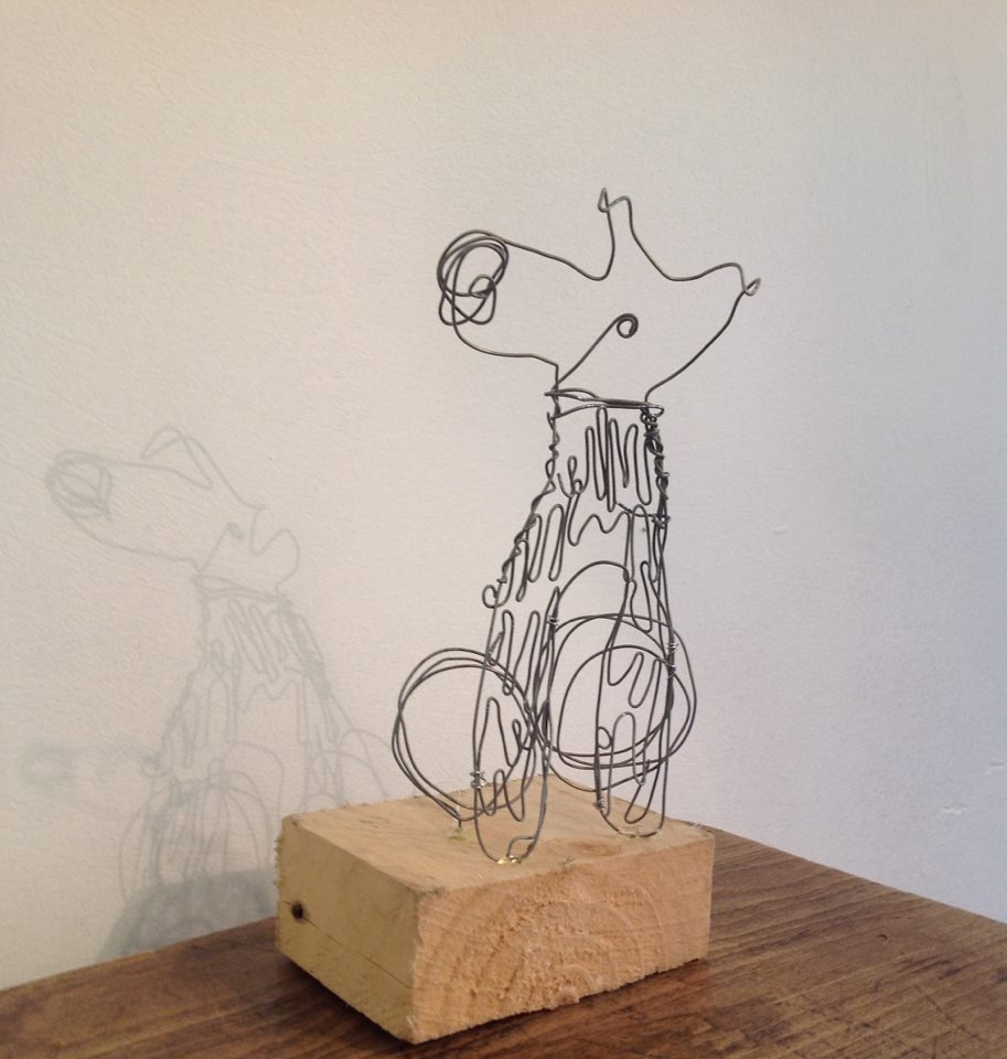 Dan Community Ltd Drawing With Wire Workshop How To A At The Vac Gallery On Wednesday 24 July Twelve People Attended Run By Jaz Elwick