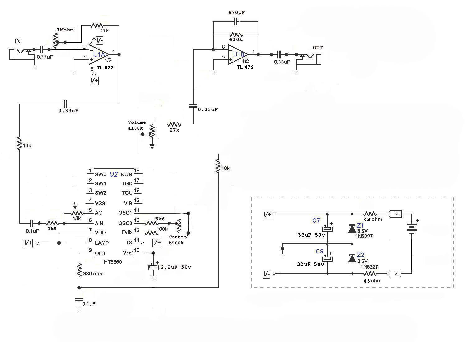 by audio robot schematic