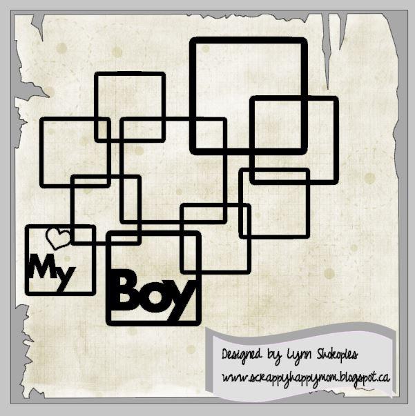 My Boy cut file