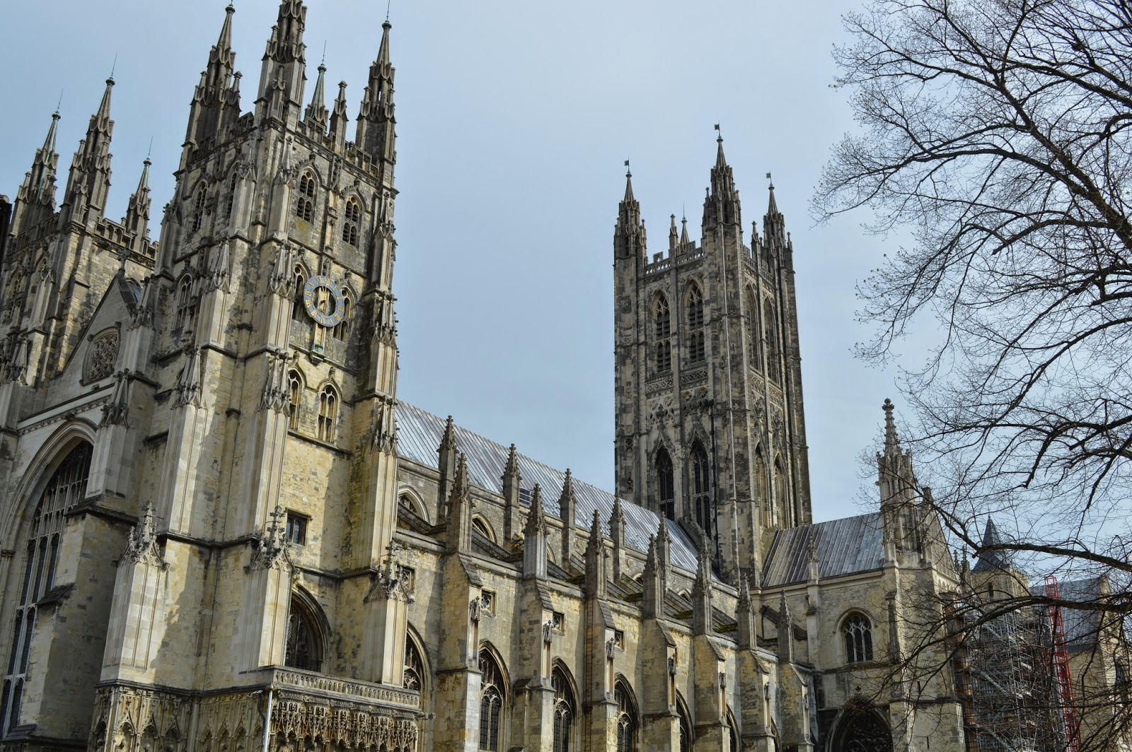 Canterbury Cathedral, Thomas Becket, martyr, Saint Augustine, worship, church, visit, Kent, day trip, religious, old, medieval, stained glass, impressive, big, history, historical, spires, decorated,