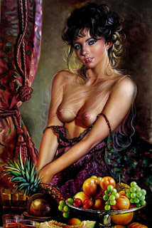 Pinturas Realistas con Mujeres Desnudas