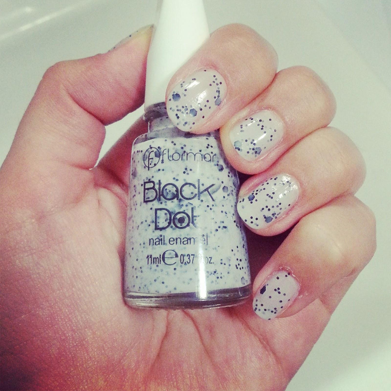 Flormar Black Dots Nail Enamel