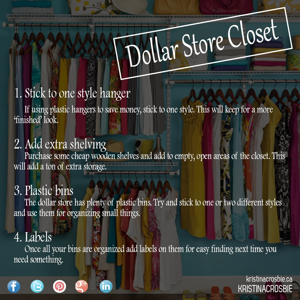Saving you cents design your own closet for Design your own closet