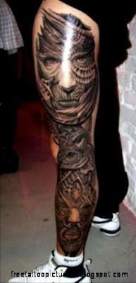 Tattoo   Legs amp Feet on Pinterest  Leg Tattoos Thigh Tattoos and