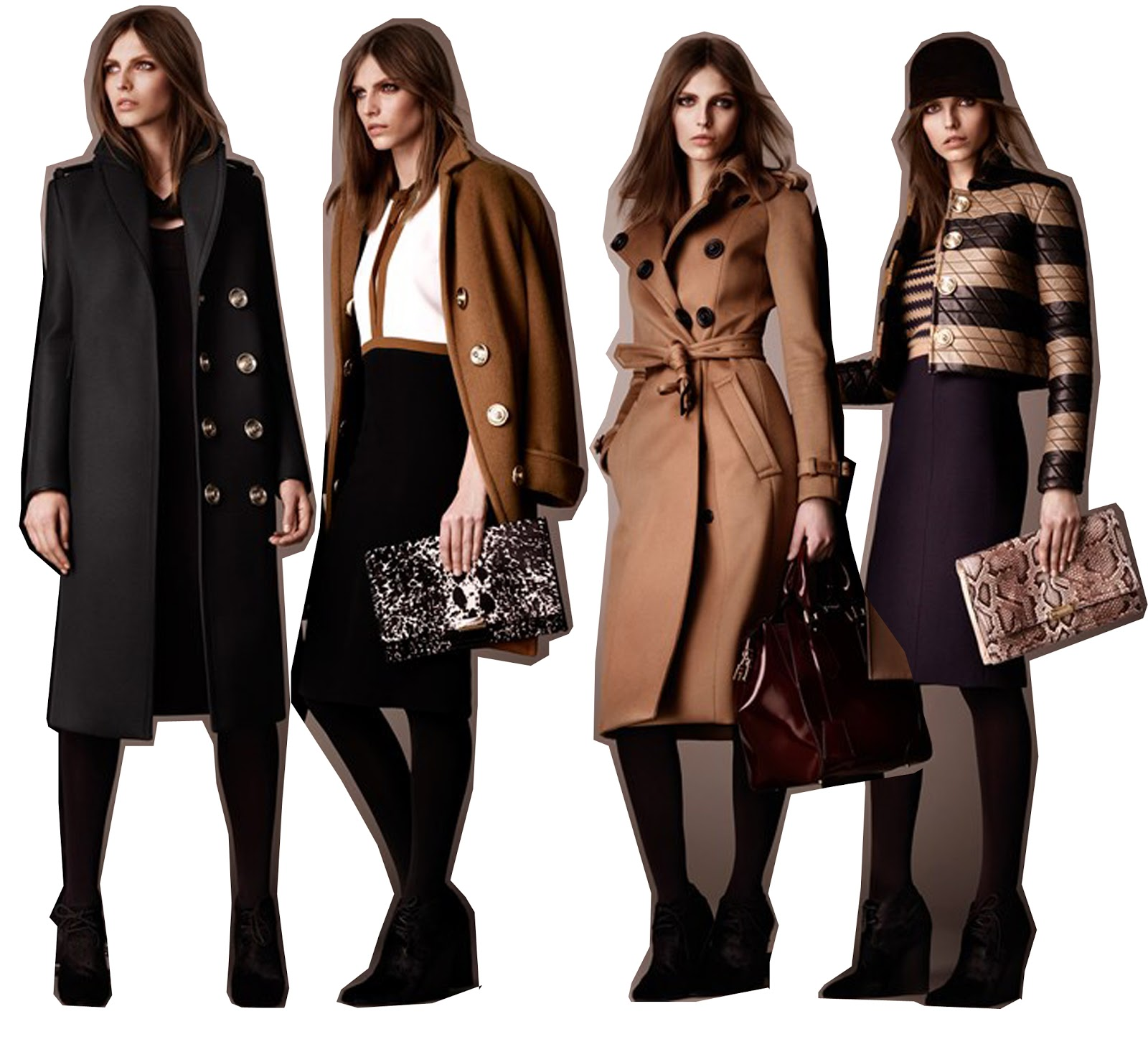 burberry prorsum quilted leather jacket 2011 love the statement buttons in the pre collection, also some of the