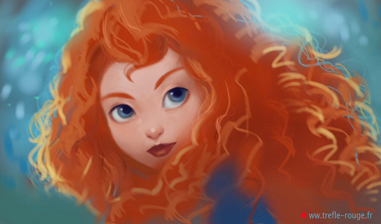 Disney Pixar: Merida