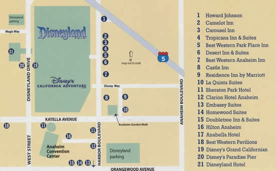 Image Gallery Hotels Near Disneyland