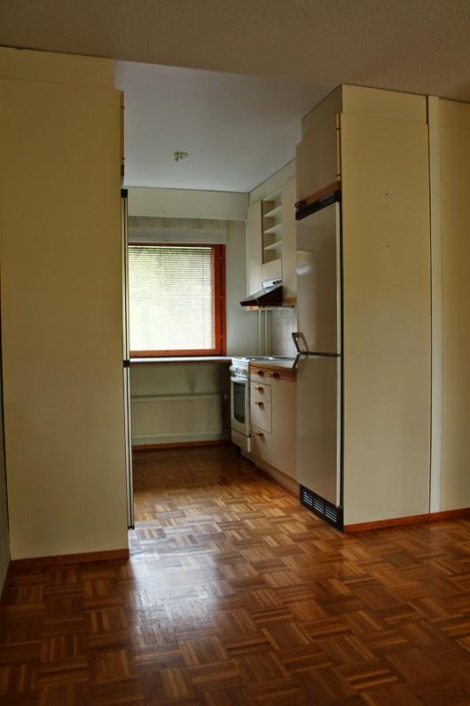 Saumaton Uusi keittiö  suunnittelu