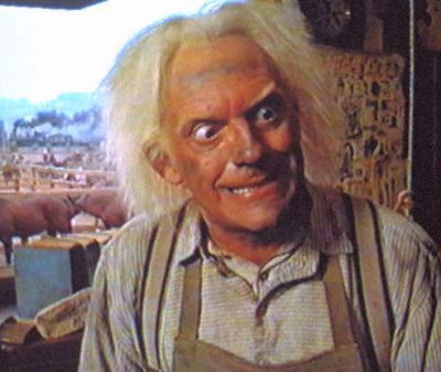 emmett brown actor