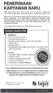 Lowongan Kerja Bank BTPN Syariah Palembang