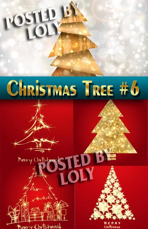 Luxury Christmas Tree Gold and Red