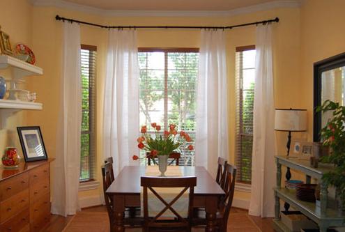 Home Window Design 2011 Home Kitchen Bay Window Treatment