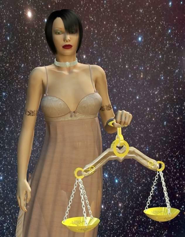 Zodiaco Mujer Libra, su yo interior contra el espacio