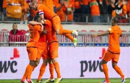 Australia vs Belanda
