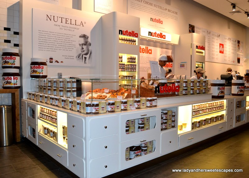 Nutella Bar in Eataly at The Dubai Mall