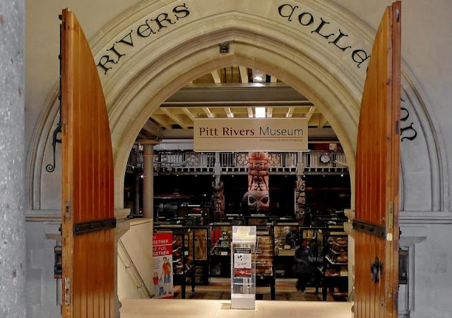 Pitt Rivers Museum em Oxford