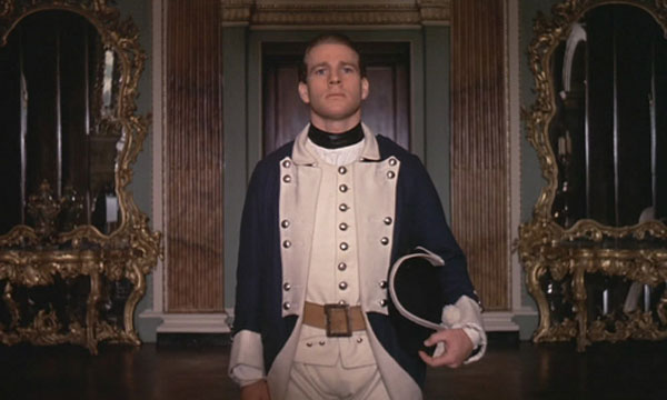 Ryan O'Neal in Stanley Kubrick's Barry Lyndon