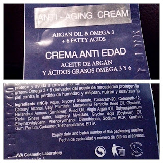crema anti edad l'arisse