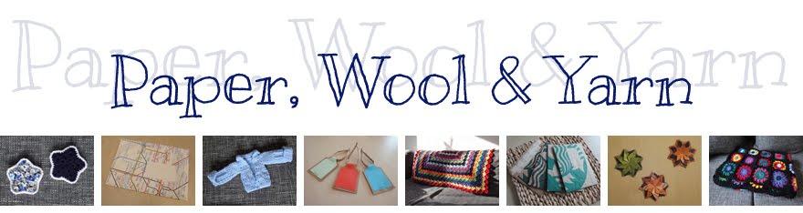 Paper, Wool & Yarn