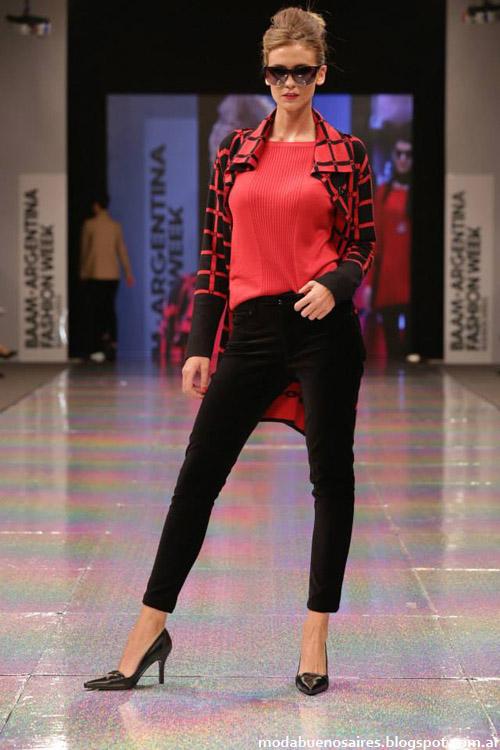 Adriana Costantini otoño invierno 2014 sacos de mujer y abrigos de moda.