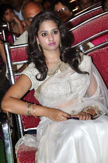 Actress Nanditha Raj Picture Gallery in Saree at Krishnamma Kalipindi Iddarini Movie Audio Launch 12