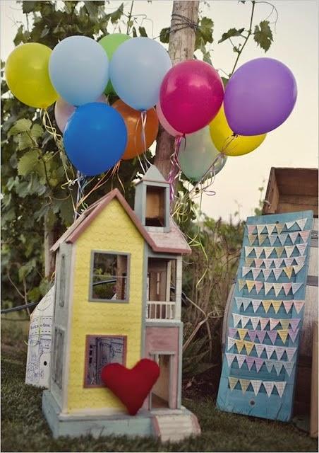 6 ideas para una boda tem tica inspirada en up blog de bodas originales para novias con estilo - Regalos originales para la casa ...