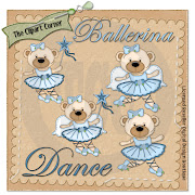 White Bear Ballerina Clip Art