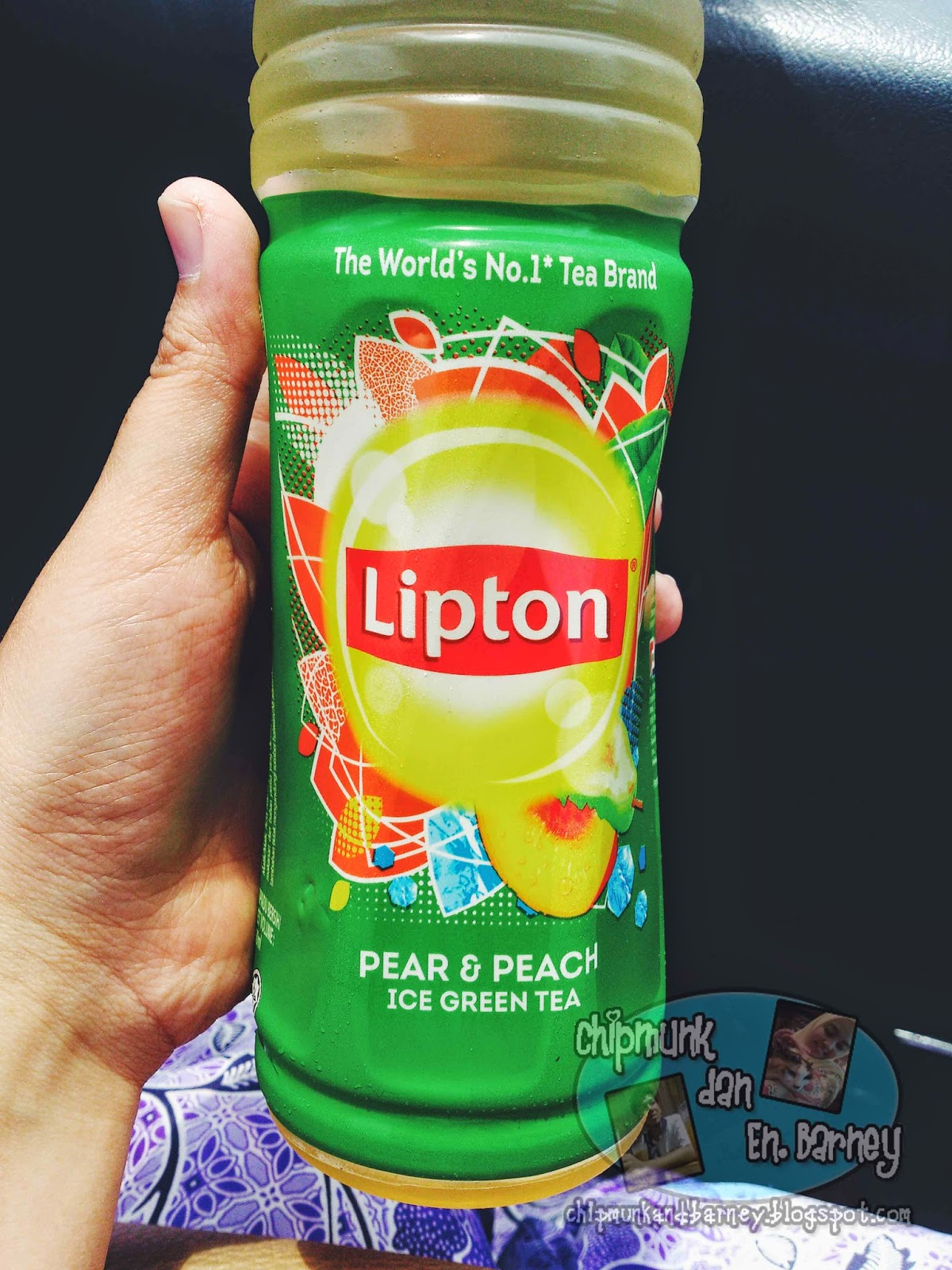 All About Life: Lipton Pear & Peach Ice Green Tea