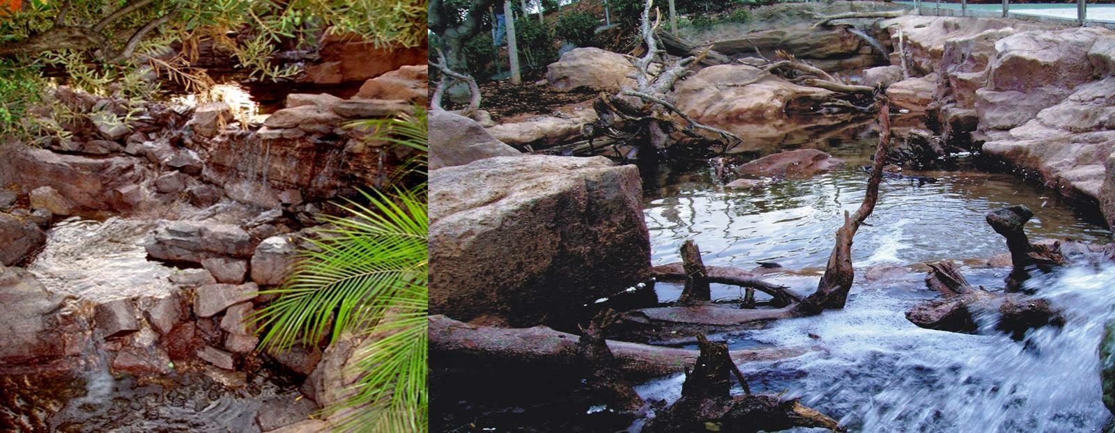 Fuentes para jard n tematizacion creativa for Cascadas artificiales para jardin