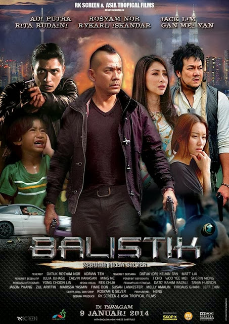 Filem Balistik 2014 Full Movie